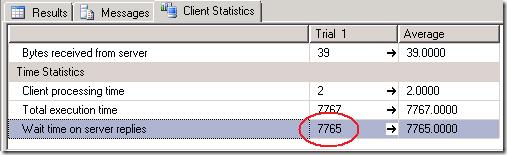 Client  Statistics