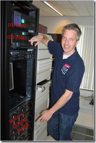 SQL Database Server - Front side