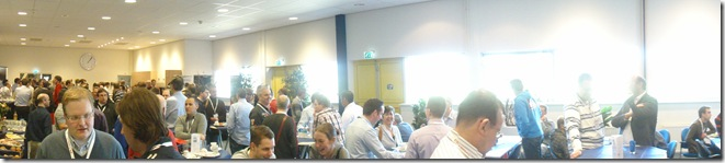 Lunch impression: Lots of folks @ Info Support!
