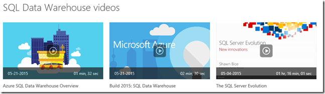 Introducing SQL Data Warehouse, the Massive Parallel Processing (MPP) version of SQL Server is now also available at Azure cloud scale!